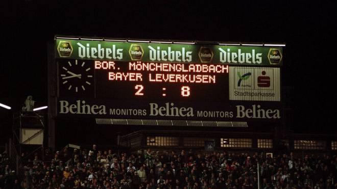 Zahlen lügen nicht: Leverkusen bezwingt Gladbach mit 8:2 auf des Gegners Platz