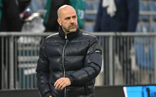 Peter Bosz war mit der Leistung des Schiedsrichters nicht einverstanden