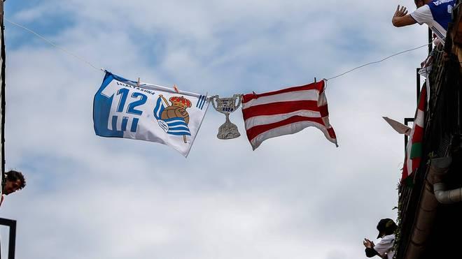 Am 18. April, dem ursprünglichen Termin für das Pokalfinale, erinnern die Menschen an das verlegte Spiel