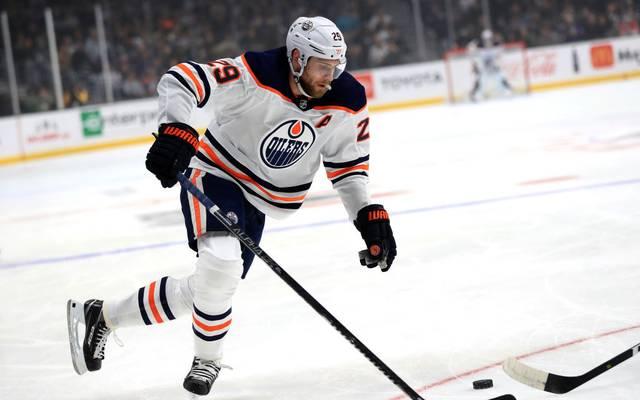 Leon Draisaitl musste mit den Edmonton Oilers eine Niederlage einstecken