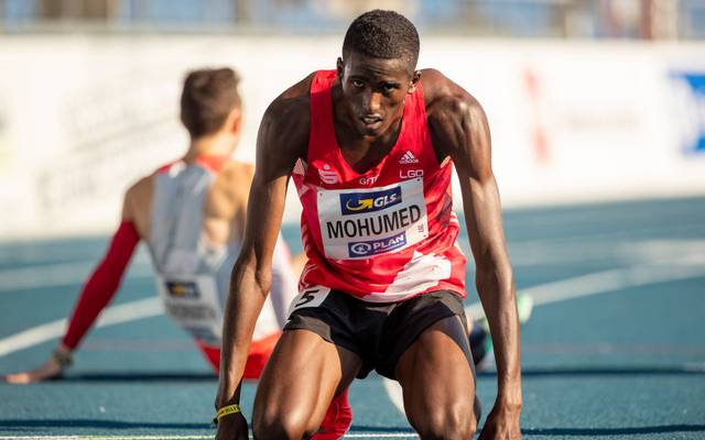 Mohamed Mohumed wurde Deutscher Meister über 5000 Meter