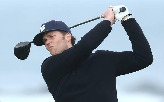 Tom Brady spilet mit drei weiteren Superstars bei einem Golf-Charity