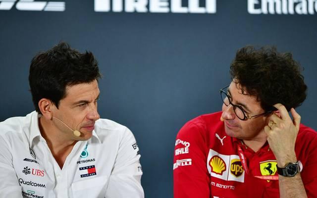 Toto Wolff wollte Ferrari nicht an der Spitze der Formel 1 sehen