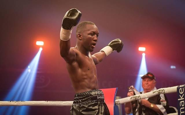 Abass Baraou ist zum Boxer des Jahres gewählt worden