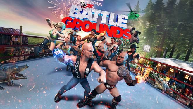 Schmeißt euch ins Getümmel und lasst die Comicfäuste in WWE 2K Battlegrounds fliegen
