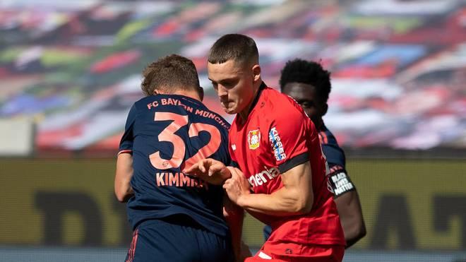 Florian Wirtz erzielte gegen die Bayern sein erstes Bundesligator
