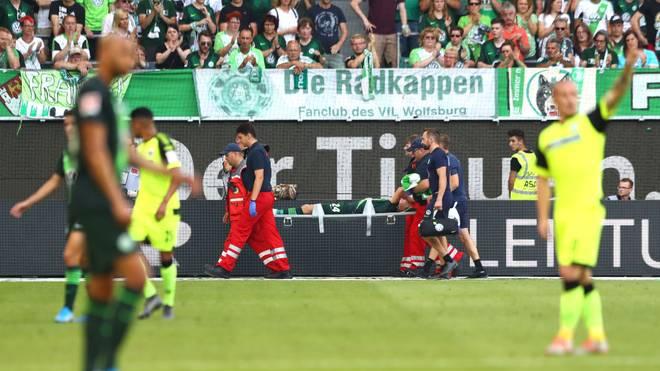 Xaver Schlager vom VfL Wolfsburg fällt lange aus