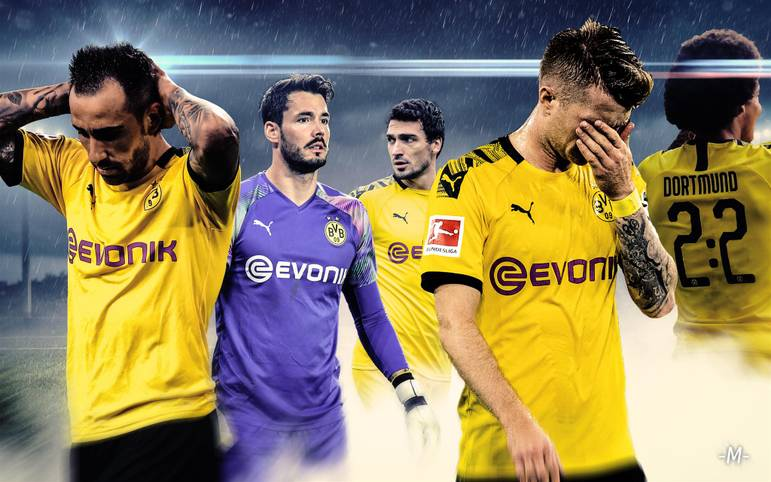Sie wollten Meister werden - und nun dieser Schlamassel: Borussia Dortmund lässt nach starkem Start neun Punkte in fünf Bundesliga-Spielen liegen - und ist auf einmal nur noch Tabellen-Siebter. Immer wieder versäumte es der BVB, scheinbar sichere Siege nach Hause zu bringen. SPORT1 zeigt die Chronologie der verpassten Gelegenheiten