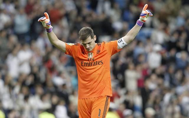 Iker Casillas spielte von 1996 bis 2015 für Real Madrid