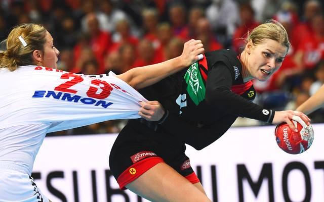 Evgenija Minevskaja musste mit den DHB-Frauen eine Niederlage einstecken