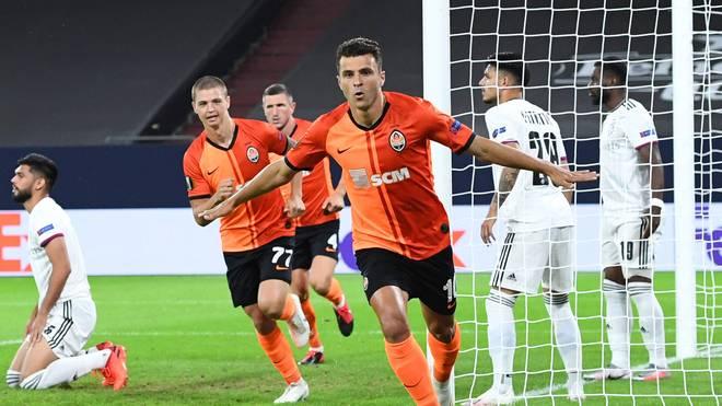 Shakhtar Donezk warf im Achtelfinale den VfL Wolfsburg aus dem Wettbewerb