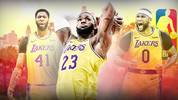LeBron James, Anthony Davis, DeMarcus Cousins, Los Angeles Lakers