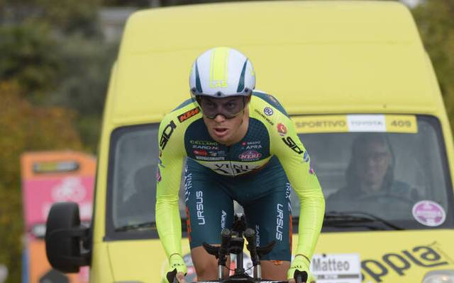 Matteo Spreafico fährt für das Team Vini Zabu-KTM