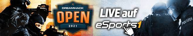 Die DreamHack Open January LIVE auf eSPORTS1