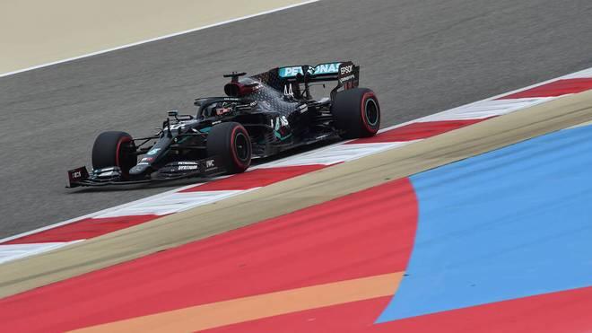 Lewis Hamilton ist auch beim Bahrain-GP der große Favorit auf die Pole Position