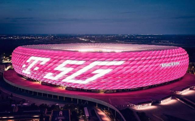 So strahlt die Allianz Arena in dieser Woche