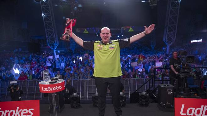 Michael van Gerwen gewann die UK Open 2020