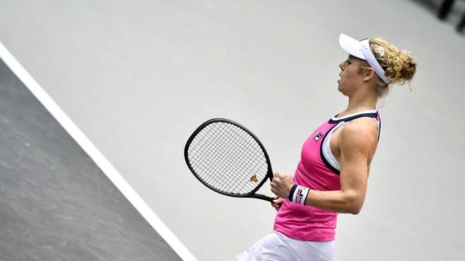 Laura Siegemund steht in Luxemburg im Viertelfinale