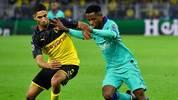 Ansu Fati spielte schon in der Champions League gegen den BVB