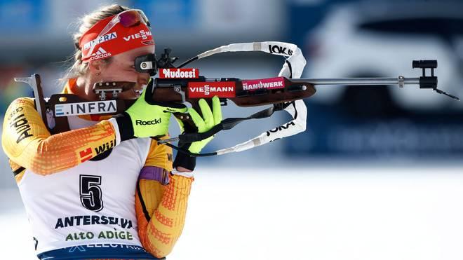 Denise Herrmann holte die erste Medaille für Deuscthland