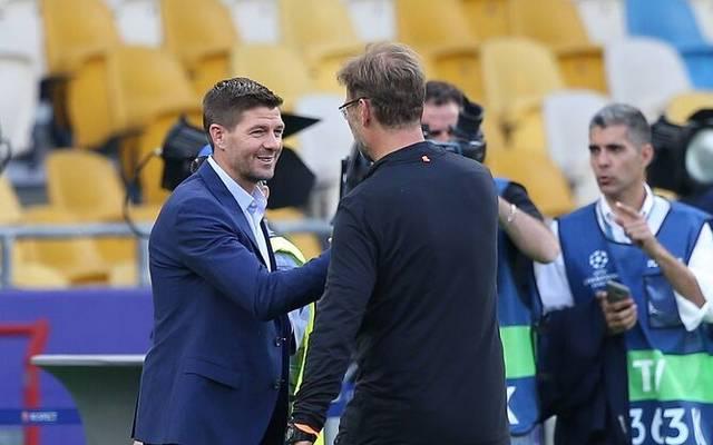 Steven Gerrard (l.) hätte gerne noch unter Jürgen Klopp gespielt