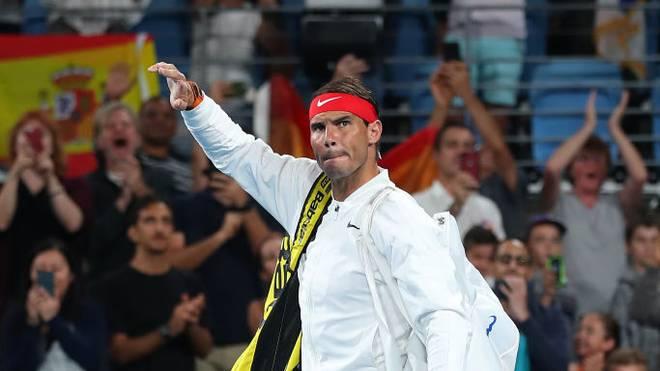 Rafael Nadal verlor in Sydney gegen Novak Djokovic