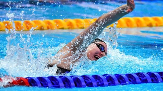 Isabel Gose schwann einen neuen deutschen Rekord über 400 m Freistil