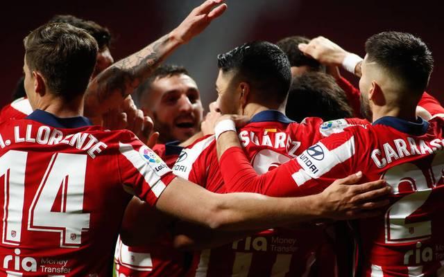 Luis Suarez war beim Sieg von Atletico gegen Valencia wieder erfolgreich