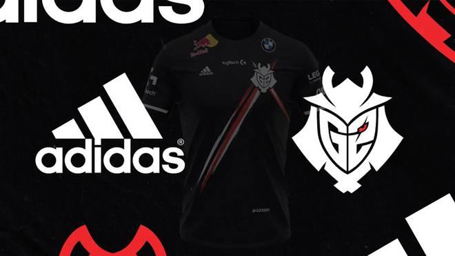 Adidas wird Partner und Ausstatter von G2 Esports