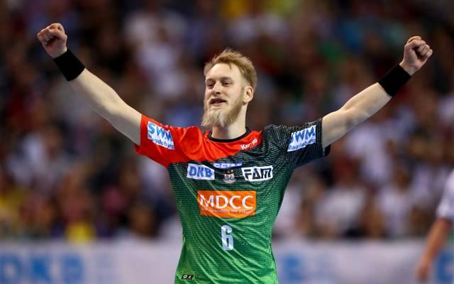 Der SC Magdeburg bleibt dem Spitzentrio der HBL weiter auf den Fersen