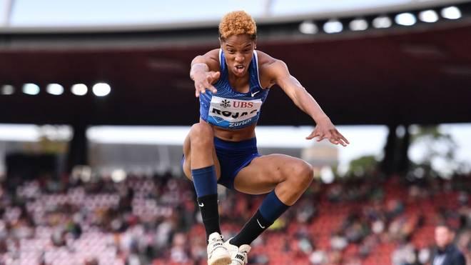 Yulimar Rojas verpasste den Weltrekord im Dreisprung nur um wenige Zentimeter