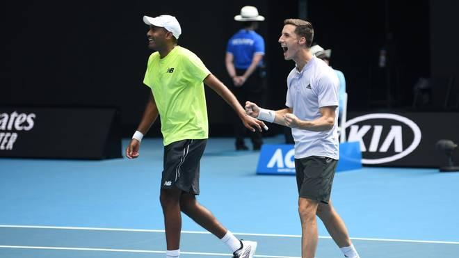 Rajeev Ram und Joe Salisbury sichern sich den Doppel-Titel bei den Australian Open