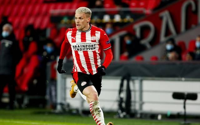 Max musste mit Eindhoven eine Niederlage hinnehmen