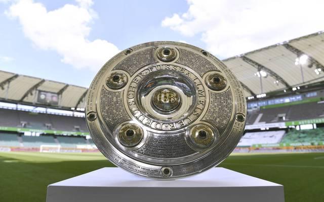 Das Objekt der Begierde: die Meisterschale der Bundesliga