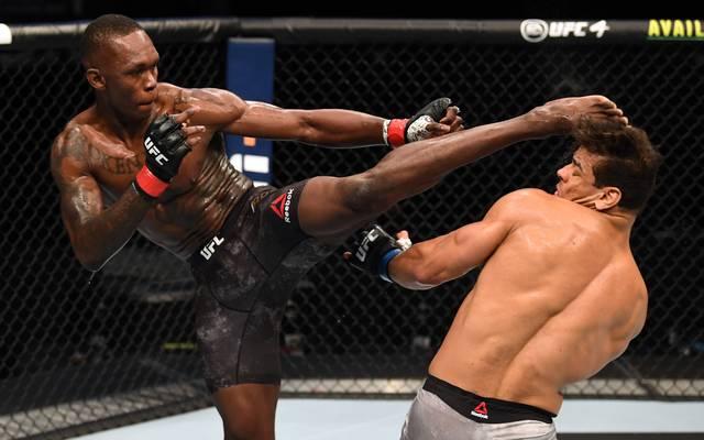 Israel Adesanya dominiert bei UFC 253
