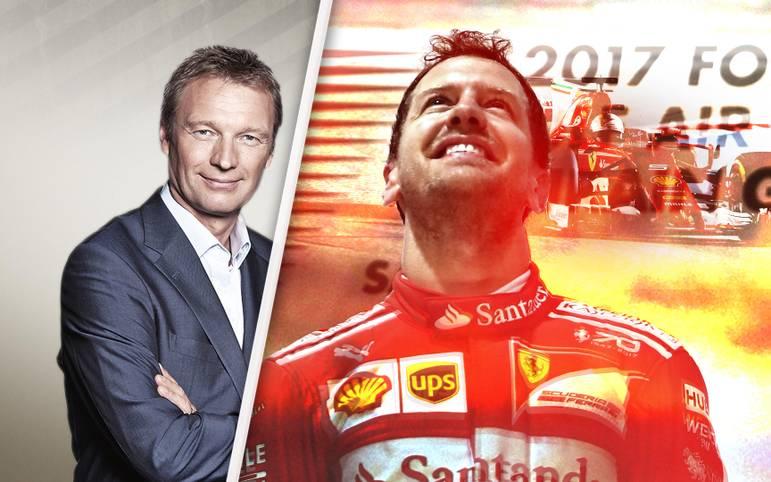 Ferrari und Sebastian Vettel fahren in Bahrain den zweiten Sieg im dritten Rennen ein, Mercedes fällt dagegen mit einer unsportlichen Stallorder auf. Die Tops und Flops des Bahrain-GP von SPORT1-Kolumnist Peter Kohl