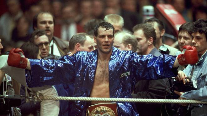 Henry Maske krönte sich 1993 gegen Charles Williams zum Weltmeister