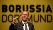 Hans-Joachim Watzke sprach auf der BVB-Jahreshauptversammlung