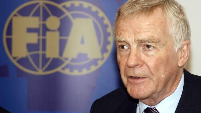 Max Mosley war bis 2009 Präsident der Fia