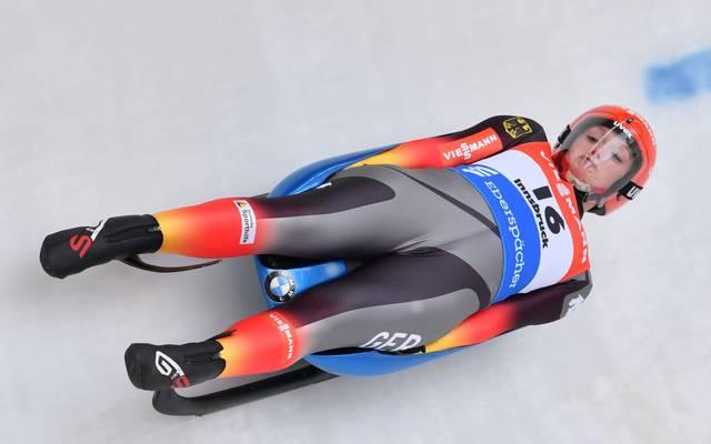 Anna Berreiter konnte in Oberhof ihren ersten Weltcupsieg feiern