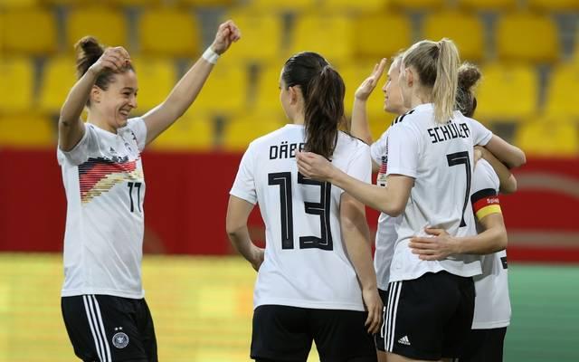 Deutschland gewann das erste Länderspiel des Jahres