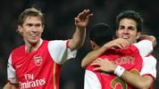 Arsenal Cesc Fabregas Slavia Prag