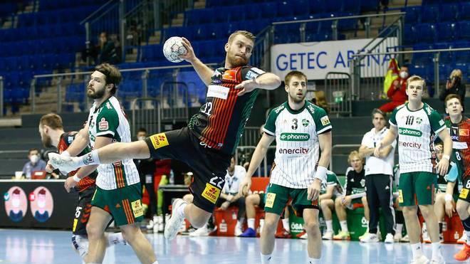 Lukas Mertens erzielte fünf Tore für den SC Magdeburg