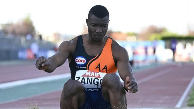 Hugues-Fabrice Zango knackt 18-Meter-Marke in der Halle