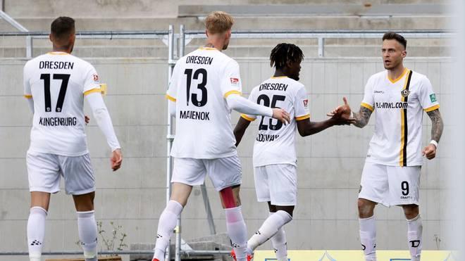 Dresden feiert den 2:2-Ausgleich