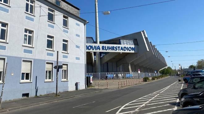 Das Vonovia Ruhrstadion liegt in Bochum derzeit vereinsamt an der Castroper Straße