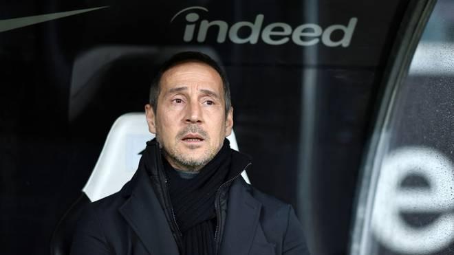 Adi Hütter befindet sich mit Eintracht Frankfurt in einer angespannten Situation
