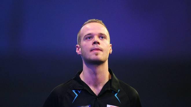Max Hopp nach seiner Niederlage bei er Darts-WM gegen Darius Labanauskas