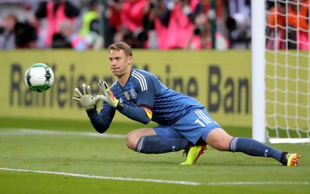 Manuel Neuer und die DFB-Nationalmannschaft testet vor der EURO 2020 gegen Spanien und Italien