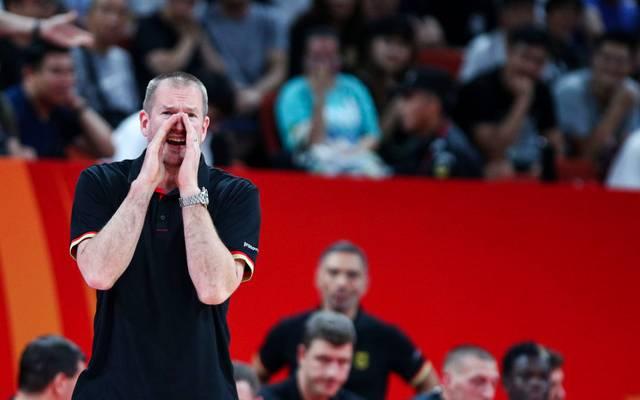 Bundestrainer Henrik Rödl sieht eine besondere Chance für den deutschen Basketball